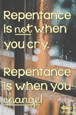 3-thing you ought to know about repentance
